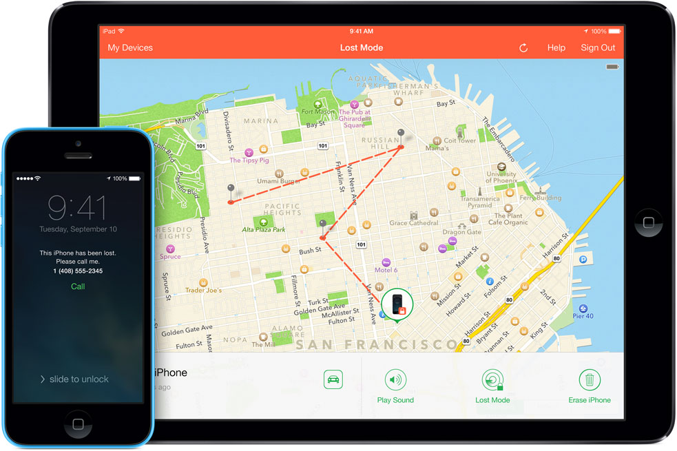 find my iphone app with icloud